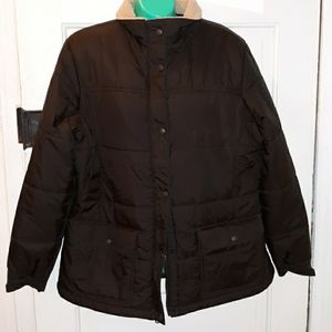 Lands End puffy winter coat large 14 16